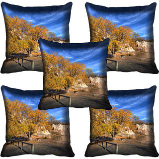 meSleep Nature Digital printed Cushion Cover (20x20) - 20CD-60-130-05