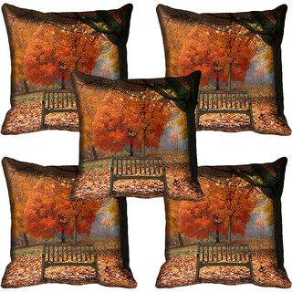 meSleep Nature Digital printed Cushion Cover (20x20) - 20CD-60-139-05