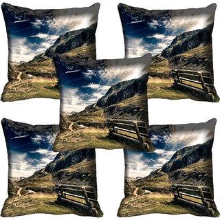 meSleep Nature Digital printed Cushion Cover (20x20) - 20CD-60-140-05
