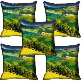 meSleep Nature Digital printed Cushion Cover (20x20) - 20CD-60-149-05