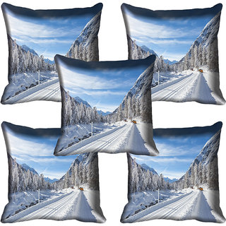 meSleep Nature Digital printed Cushion Cover (20x20) - 20CD-61-132-05