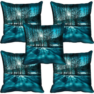meSleep Nature Digital printed Cushion Cover (20x20) - 20CD-61-141-05