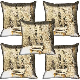 meSleep Nature Digital printed Cushion Cover (20x20) - 20CD-61-148-05