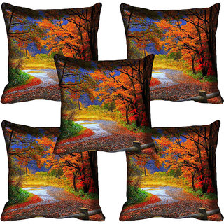 meSleep Nature Digital printed Cushion Cover (20x20) - 20CD-61-149-05