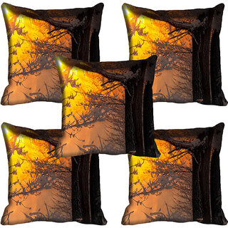 meSleep Nature Digital printed Cushion Cover (20x20) - 20CD-61-156-05
