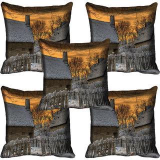 meSleep Nature Digital printed Cushion Cover (20x20) - 20CD-61-167-05