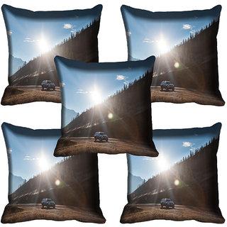 meSleep Nature Digital printed Cushion Cover (20x20) - 20CD-63-225-05