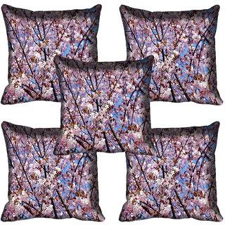 meSleep Flower Digital printed Cushion Cover (20x20) - 20CD-63-245-05