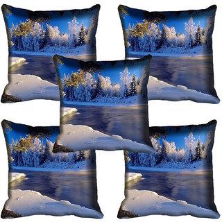 meSleep Nature Digital printed Cushion Cover (20x20) - 20CD-63-256-05