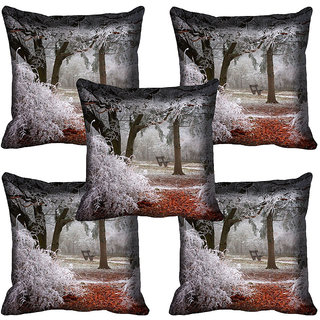 meSleep Nature Digital printed Cushion Cover (20x20) - 20CD-64-106-05