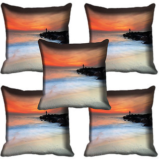 meSleep Nature Digital printed Cushion Cover (20x20) - 20CD-64-117-05