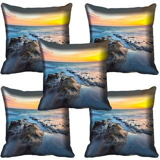 meSleep Nature Digital printed Cushion Cover (20x20) - 20CD-64-118-05