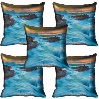 meSleep Nature Digital printed Cushion Cover (20x20) - 20CD-64-127-05