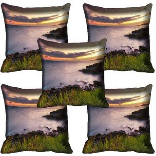 meSleep Nature Digital printed Cushion Cover (20x20) - 20CD-64-145-05