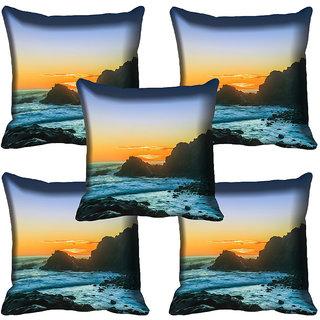 meSleep Nature Digital printed Cushion Cover (20x20) - 20CD-64-146-05