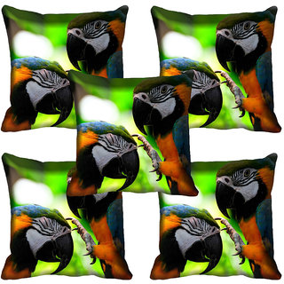 meSleep Wild Life Digital printed Cushion Cover (20x20) - 20CD-65-148-05
