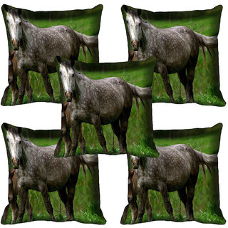 meSleep Wild Life Digital printed Cushion Cover (20x20) - 20CD-65-159-05