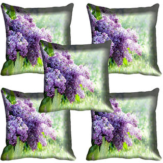 meSleep Flower Digital printed Cushion Cover (20x20) - 20CD-65-169-05