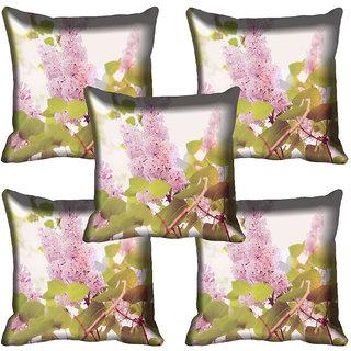 meSleep Flower Digital printed Cushion Cover (20x20) - 20CD-65-179-05