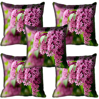 meSleep Flower Digital printed Cushion Cover (20x20) - 20CD-65-189-05
