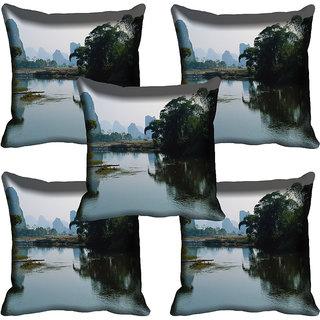 meSleep Nature Digital printed Cushion Cover (20x20) - 20CD-71-096-05