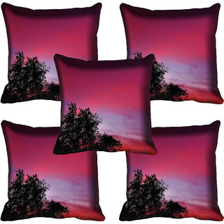 meSleep Nature Digital printed Cushion Cover (20x20) - 20CD-72-100-05