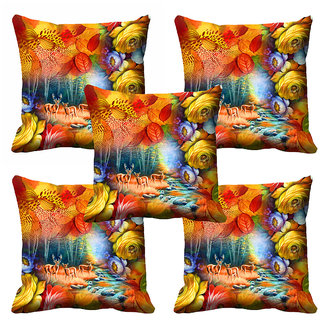 meSleep 3D Beautiful Nature Cushion Cover (20x20) - 20CD-92-070-S5