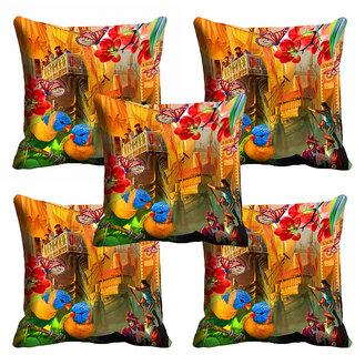 meSleep 3D Beautiful Nature Cushion Cover (20x20) - 20CD-92-080-S5