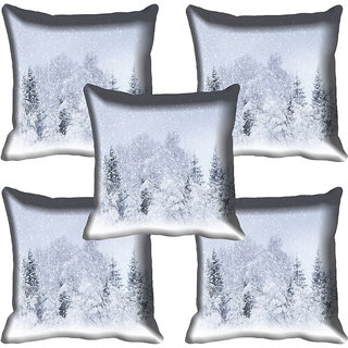 meSleep Nature Digital printed Cushion Cover (20x20) - 20CD-61-263-05