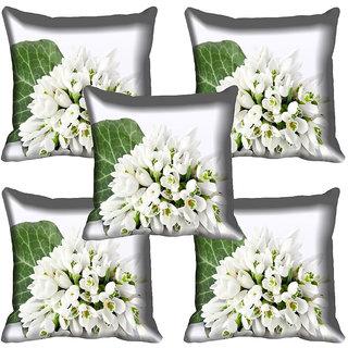 meSleep Flower Digital printed Cushion Cover (20x20) - 20CD-64-233-05