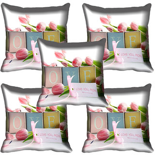 meSleep Flower Digital printed Cushion Cover (20x20) - 20CD-64-247-05