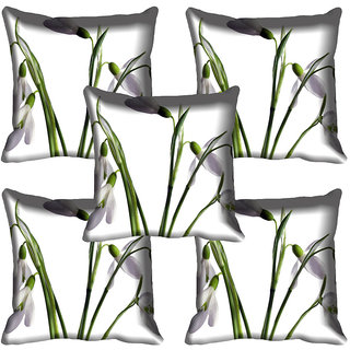 meSleep Flower Digital printed Cushion Cover (20x20) - 20CD-64-249-05