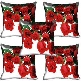 meSleep Flower Digital printed Cushion Cover (20x20) - 20CD-64-263-05