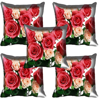 meSleep Flower Digital printed Cushion Cover (20x20) - 20CD-64-265-05