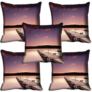 meSleep Nature Digital printed Cushion Cover (20x20) - 20CD-64-279-05
