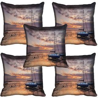 meSleep Nature Digital printed Cushion Cover (20x20) - 20CD-64-282-05