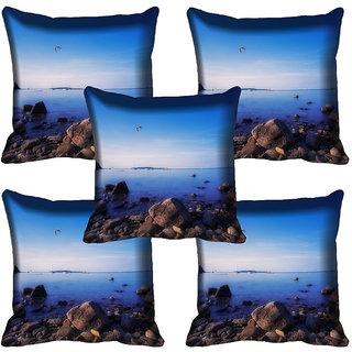 meSleep Nature Digital printed Cushion Cover (20x20) - 20CD-64-299-05
