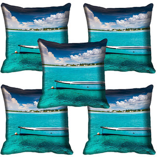 meSleep Nature Digital printed Cushion Cover (20x20) - 20CD-64-301-05