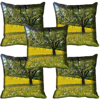meSleep Nature Digital printed Cushion Cover (20x20) - 20CD-65-292-05