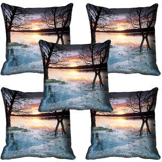 meSleep Nature Digital printed Cushion Cover (20x20) - 20CD-65-308-05