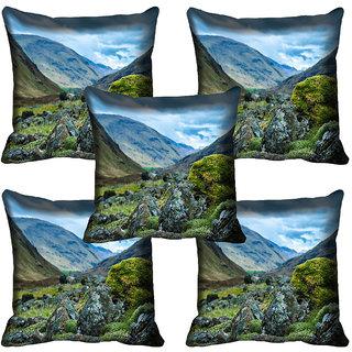 meSleep Nature Digital printed Cushion Cover (20x20) - 20CD-65-323-05