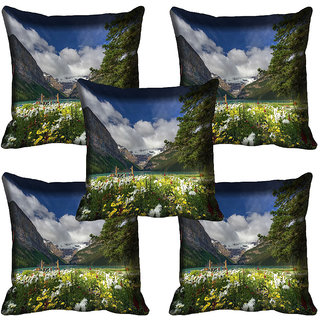 meSleep Nature Digital printed Cushion Cover (20x20) - 20CD-65-339-05