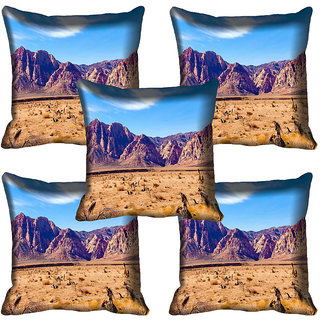 meSleep Nature Digital printed Cushion Cover (20x20) - 20CD-65-359-05