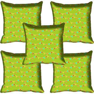 meSleep Abstract Digital Printed Cushion Cover 20x20 - 20CD-80-060-05