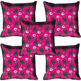 meSleep Pink Digital Printed Cushion Cover 20x20 - 20CD-80-062-05