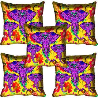 meSleep Elephant Digital Printed Cushion Cover 20x20 - 20CD-81-059-05
