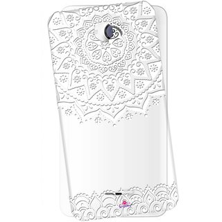 reputable site 55a79 a2140 Snooky Printed Transparent Silicone Back Case Cover For Micromax A106 Unite  2
