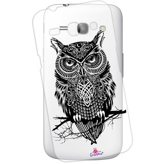 Snooky Printed Transparent Silicone Back Case Cover For Samsung Galaxy Ace 4 LTE G313