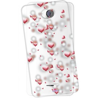 Snooky Printed Transparent Silicone Back Case Cover For Micromax A106 Unite 2