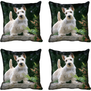 meSleep Dog Digital printed Cushion Cover (18x18) - 20CD-68-191-04